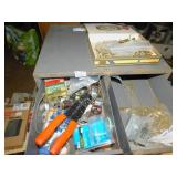 ELECTICAL SUPPLIES IN METAL FILE BOX