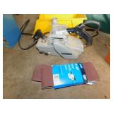 PORTER CABLE BELT SANDER, SAND PAPER, NO DUST
