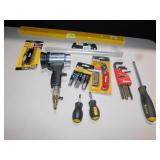 ASSORTED TITAN TOOLS,AIR DRYER ,HEX KEYS