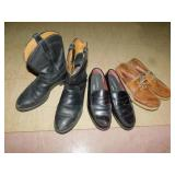 10 EE BOOTS & 2 PAIRS SHOES