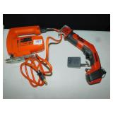 BLACK N DECKER HANDY SAW, 2 SPEED JIG SAW