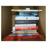 GROUP OF BOOKS INCLUDING REVOLUTIONARY WEALTH,