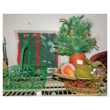 FRUIT BASKET SMALL CHRISTMAS
