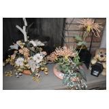 ARTIFICIAL PLANTS, DOG LANTERN HOLDER, GLASS