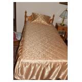 TWIN HARDROCK MAPLE CRAWFORD BED