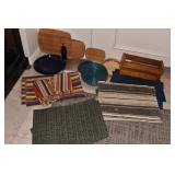 PLACEMAT SETS, WOOD CHEESE BOARDS, ETC.