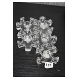 PUZZLE CANDLE HOLDER - 11 VOTIVE CANDLE HOLDERS