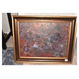 """29"""" X 24"""" BY RAY MAHOLTZ PAINTED ON CANVAS SIGNED"""