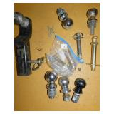 ASSORTED BALL AND HITCHES