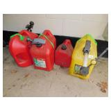 GAS & KEROSCENE CANS
