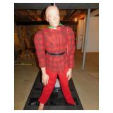 MARTIAL ART PRACTIC DUMMY SEE PURCHASE SLIP PAID