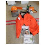 STIHL MS 250C CHAIN SAW LIKE NEW WITH PROTECTIVE