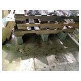 GROUP OF 5 PALLETS