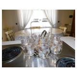 ICE BUCKET WITH 8 GLASSES AND TRAY