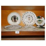 COLLECTORS PLATES INCLUDING KENNEDY, PRESIDENTS,