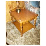 PAIR OF END TABLES 23H 30D 22.5W
