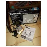 V-TECH AND PANASONIC CORDLESS PHONES WITH CHARGER