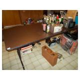 FOLDING WOODEN TABLE 30H 30W 74L