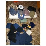 BOX OF HATS AND SCARVES