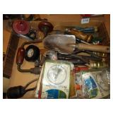 BOX LID WITH VARIOUS TOOLS