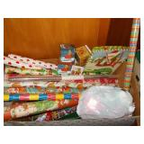 WRAPPING PAPER/BAGS/BOWS FOR ALL HOLIDAYS!