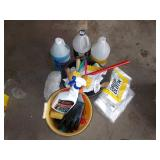 CAR CLEANING EQUIPMENT, WINDSHIELD WIPER FLUID,