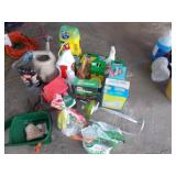 GARDENING PRODUCTS! MIRACLE GROW, SPRINKLER,