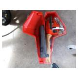 HOMELIFE CHAIN SAW AND CASE.
