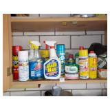 RAID, WEED B GONE, WD 40, OIL CAN, ETC.