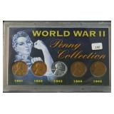 WWII PENNY COLLECTION