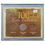 100 YEAR OLD COIN COLLECTION