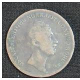 1853 2/3 SKILLING COIN