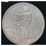 1877 TRADE DOLLAR