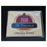 """1918 LINCOLN PENNY """"THE COME BACK"""""""