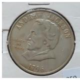 ANDREW JACKSON / THE HERMITAGE COLLECTOR COIN