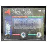 2001 NEW YORK COLORIZED STATE QUARTER