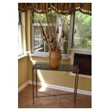 ACCENT TABLE & VASE 31W, 12, 30H