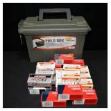 1000 ROUNDS OF .22 CAL. AMMUNITION IN PLASTIC AMMO