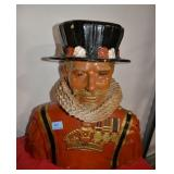 BEEFEATER ADVERTISING BUST - COMPOSITE MATERIAL