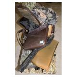 GROUPING: TREE STAND SEATS AND SUPPLIES