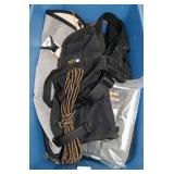 HUNTING SUPPLIES: SAFTY HARNESS, ROPE, BAGS, ETC.