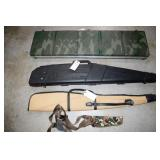 2 HARD SIDE AND 2 SOFT SIDE LONG GUN CASES