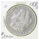 1882 O MORGAN DOLLAR