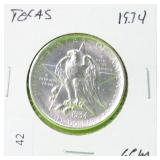 1934 TEXAS COMMEMORATIVE GEM BU