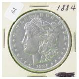 1884 MORGAN DOLLAR VG
