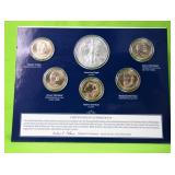 2012 USA ANNUAL UNCIRCULATED DOLLAR COIN SET