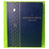 LINCOLN CENT COLLECTION 1909 TO