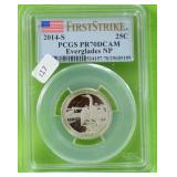 2014 S WASHINGTON QUARTER PCGS PF70DC