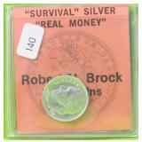 SURVIVAL REAL MONEY DIME