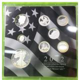 2012 USLIMITED EDITION SILVER PROOF SET W BOX